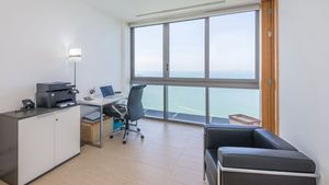 The smallest bedroom is used as the home office