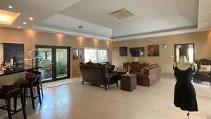 The sofa- and TV-corner