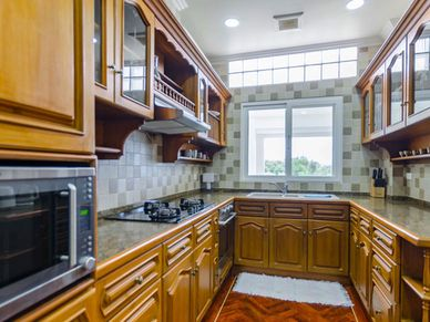 The top equipped kitchen