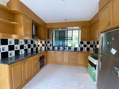 The well fitted Western kitchen
