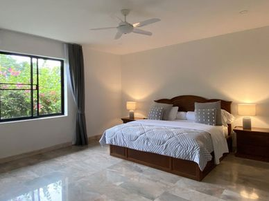 There is a total of 6+ bedrooms
