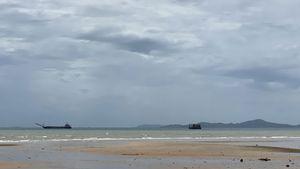 This beach is just 350 meters away