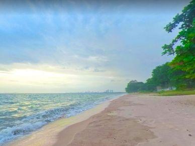 This beach is just 700 meters away