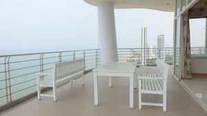 This huge 34th floor terrace can be all yours