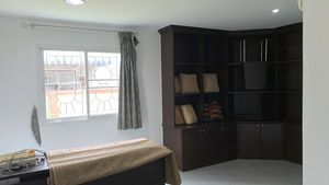 This is the ground-floor bedroom