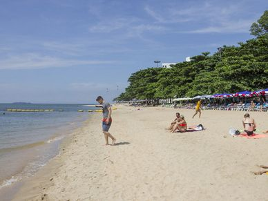 This nice bathing beach is just 700 meters away