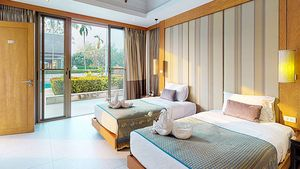 True suites - the large bedrooms