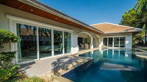 Views across the pool