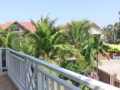 Views from a balcony
