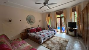 Yet anoter large bedroom with lovely views