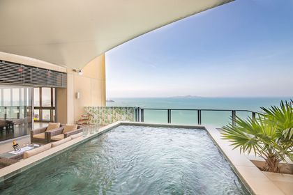 Your private pool on the 50th floor