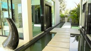 A passage at this high end residence above Pattaya