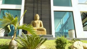 A spiritual place at this high end residence above Pattaya