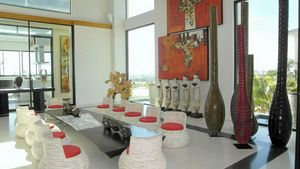 Dining area of this high end residence above Pattaya