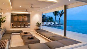 Heavenly beachfront living