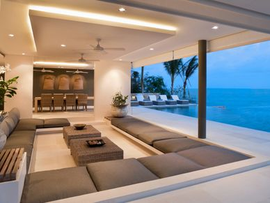 Heavenly beachfront living
