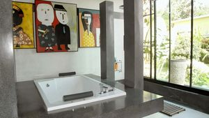 Master bathroom of this high end residence above Pattaya