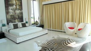 Master bedroom at this high end residence above Pattaya