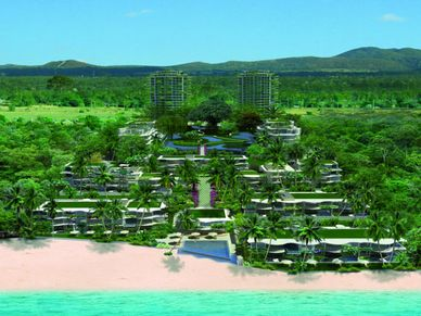 Projects general view at this seaview 1-bedroom condo Na-Jomtien