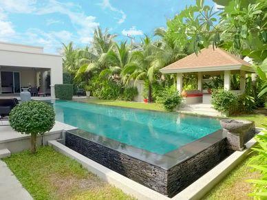 The Sala across the pool