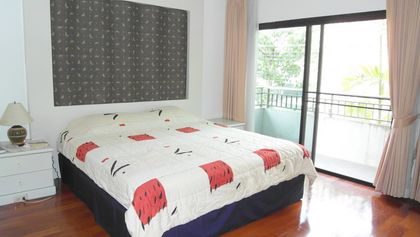 The third bedroom of this 3-bedroom home at Jomtien Yacht Club