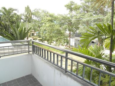 View from the balcony of this 3-bedroom home at Jomtien Yacht Club