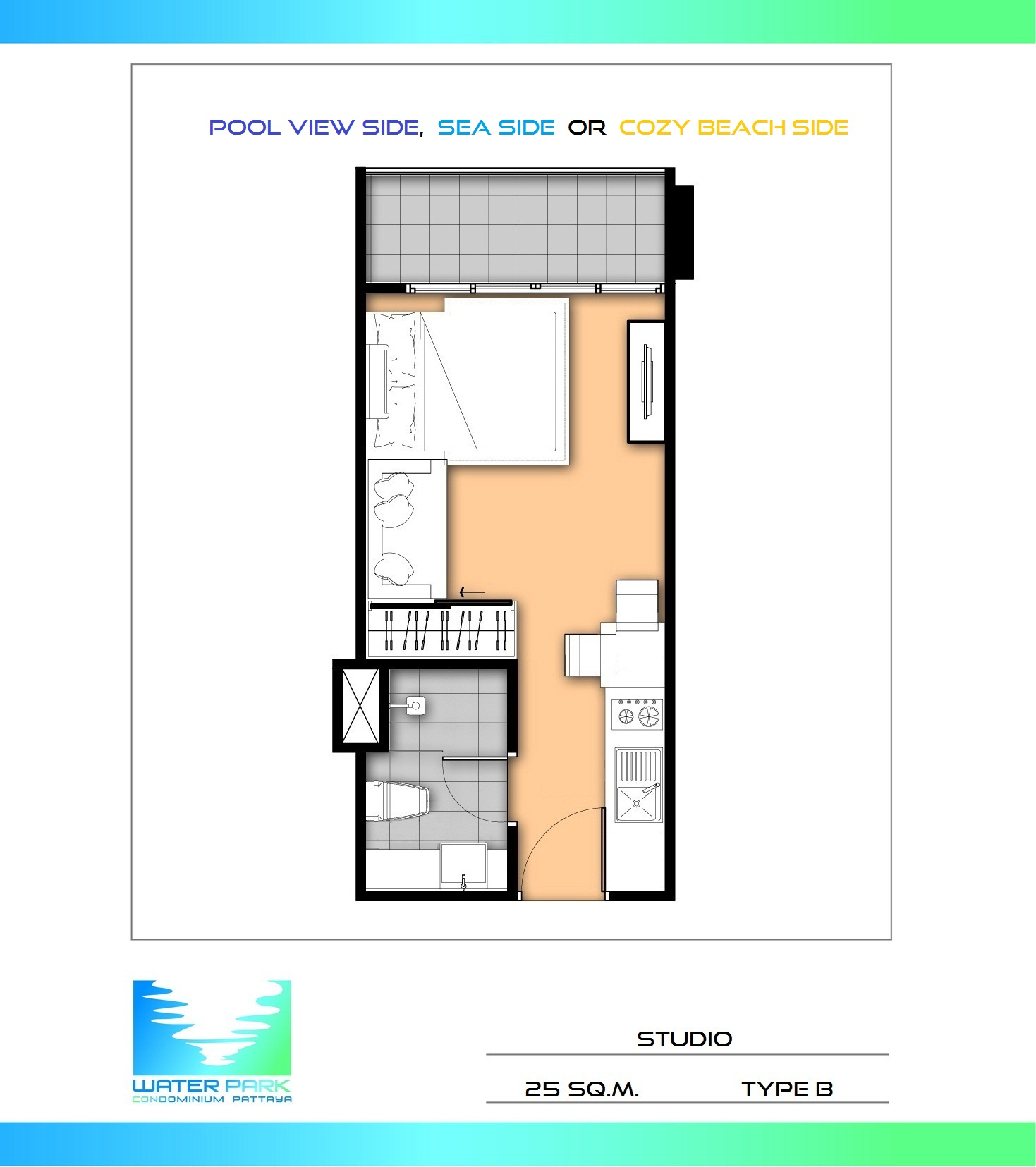 Two Garage Condo Developments Planned For Martin City Area: Water Park Modern Studio Condo With Balcony At Top